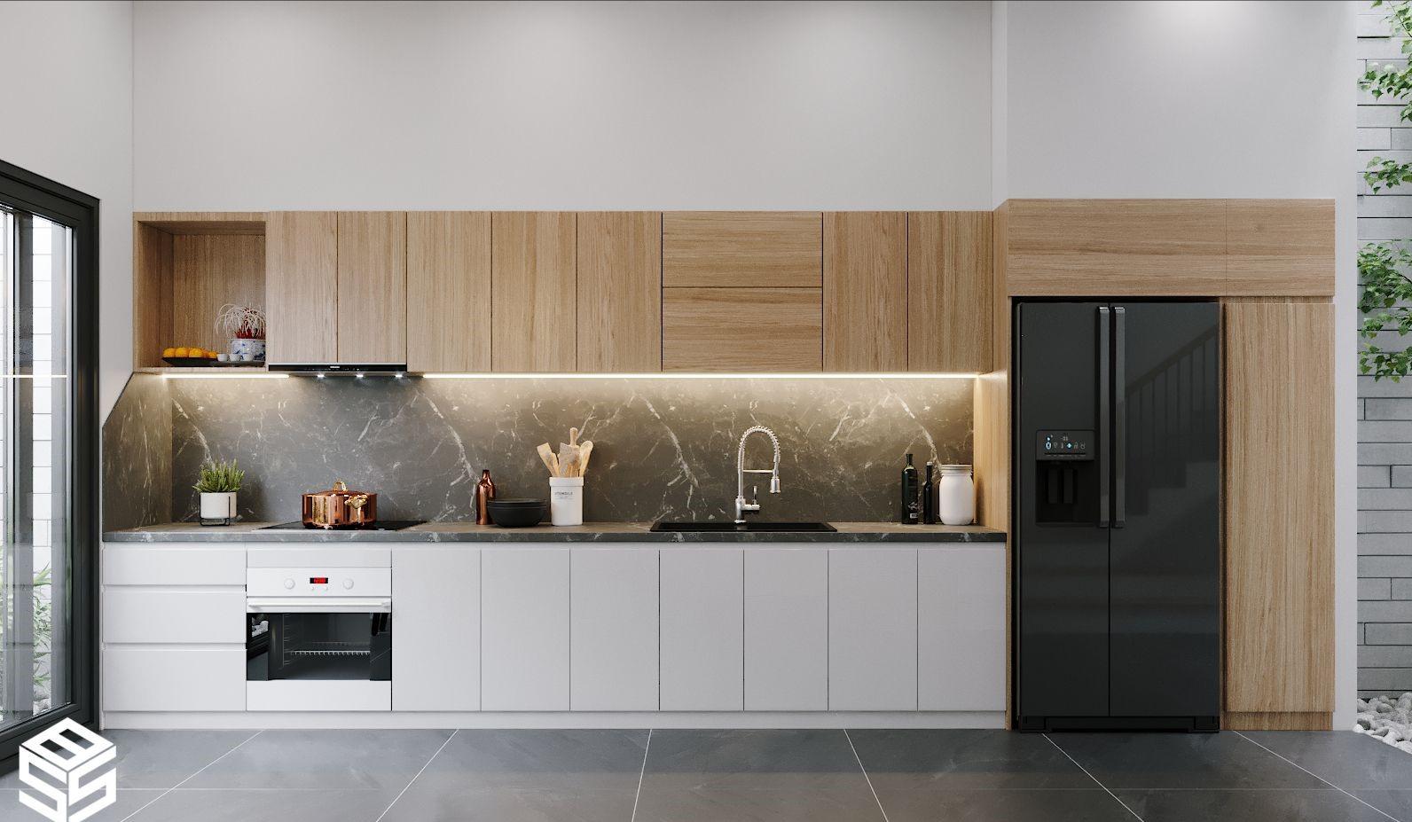 10 Mẫu Nhà Bếp Đơn Giản Nhà Cấp 4 TIỆN LỢI - KHOA HỌC
