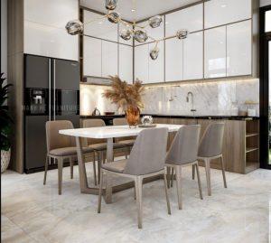 mẫu nhà bếp đơn giản nhà cấp 4 tận dụng không gian