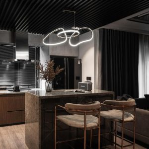 phòng bếp của căn hộ 7 tỷ ở hà nội