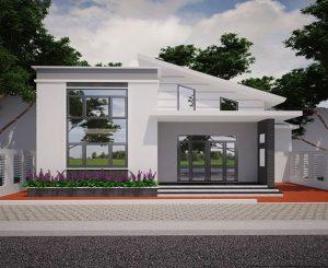 đơn giá xây nhà cấp 4 gác lửng mái tôn hạn chế