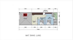 bản vẽ mẫu nhà gác lửng mái thái 5x15 đẹp