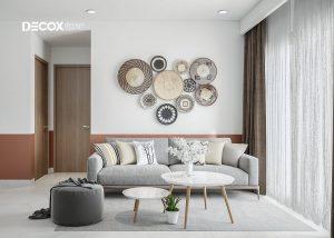 Phối màu sơn phòng khách theo hướng phòng
