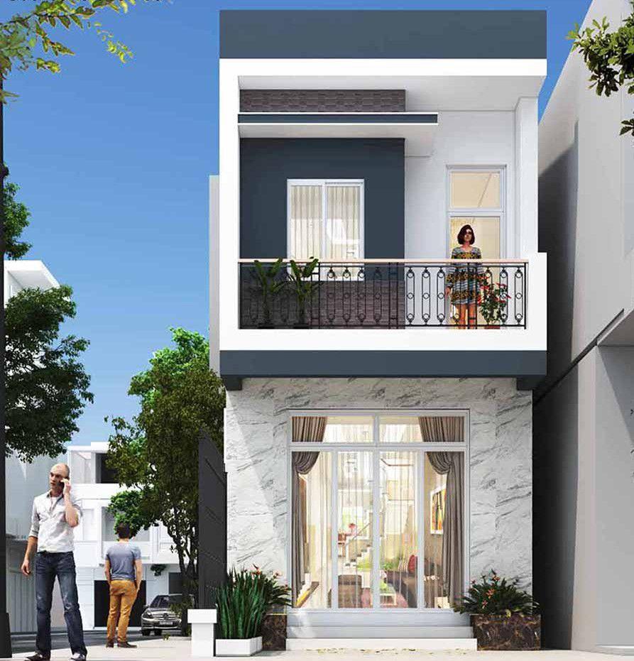 Đặc điểm mẫu thiết kế nhà 30m2 2 tầng