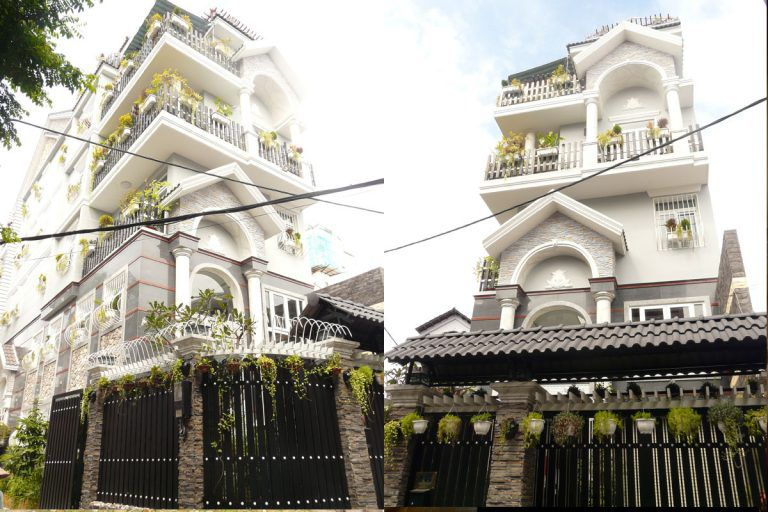 30+ Mẫu Nhà Phố Tân Cổ Điển 3 Tầng Vạn Người Mê