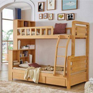 nội thất tiết kiệm không gian giường tầng