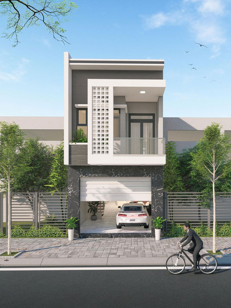 Đặc điểm của mẫu thiết kế nhà 30m2 2 tầng