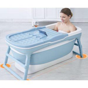bồn tắm gấp gọn