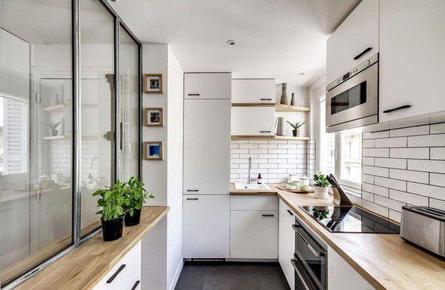 Nguyên tắc bố trí những mẫu nhà bếp nhỏ đẹp