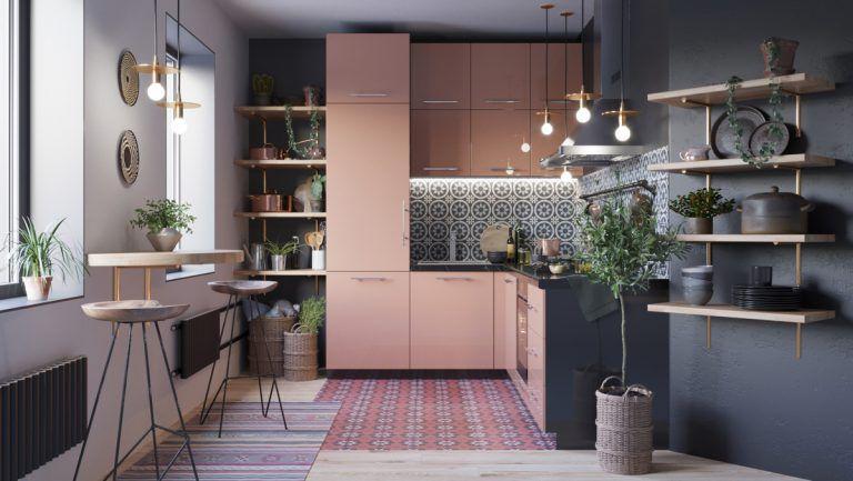 Những mẫu nhà bếp nhỏ đẹp 2021 - Mẫu 2