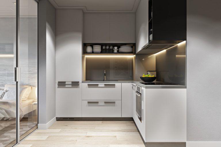 Những mẫu nhà bếp nhỏ đẹp 2021 - Mẫu 3