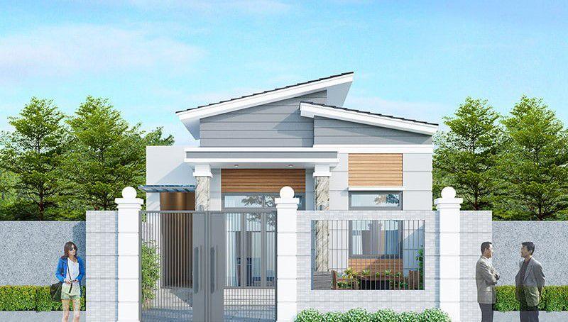 Dự toán chi phí xây mẫu nhà cấp 4 đẹp 2020 giá 300 triệu