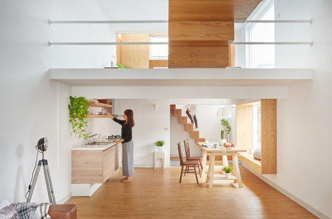 Cách tính chiều cao tầng lửng cho từng mẫu nhà
