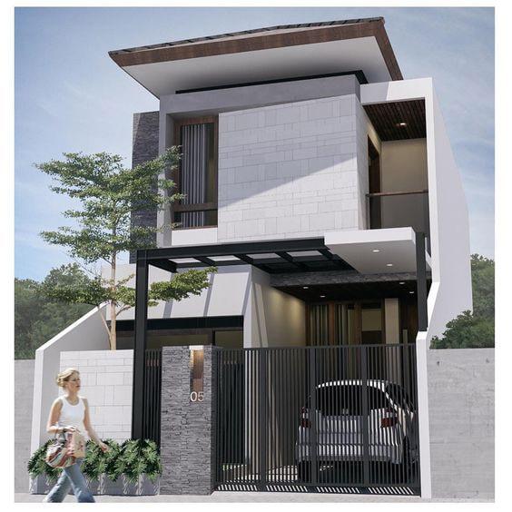 10 Mẫu Nhà 2 Tầng Mái Bằng SANG TRỌNG BẬC NHẤT