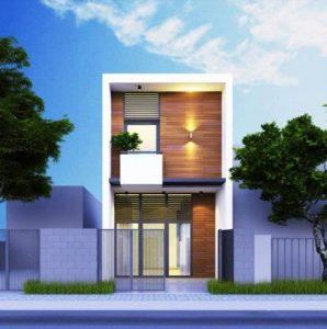 Mẫu nhà 2 tầng mái bằng đơn giản chỉ từ 400 triệu