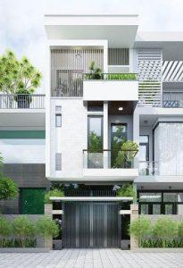 Một số phương án thiết kế thi công nhà phố 3 tầng