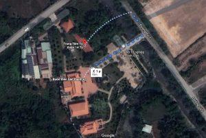 tâm linh việt của Hoài Linh bị đổi tên trên google map