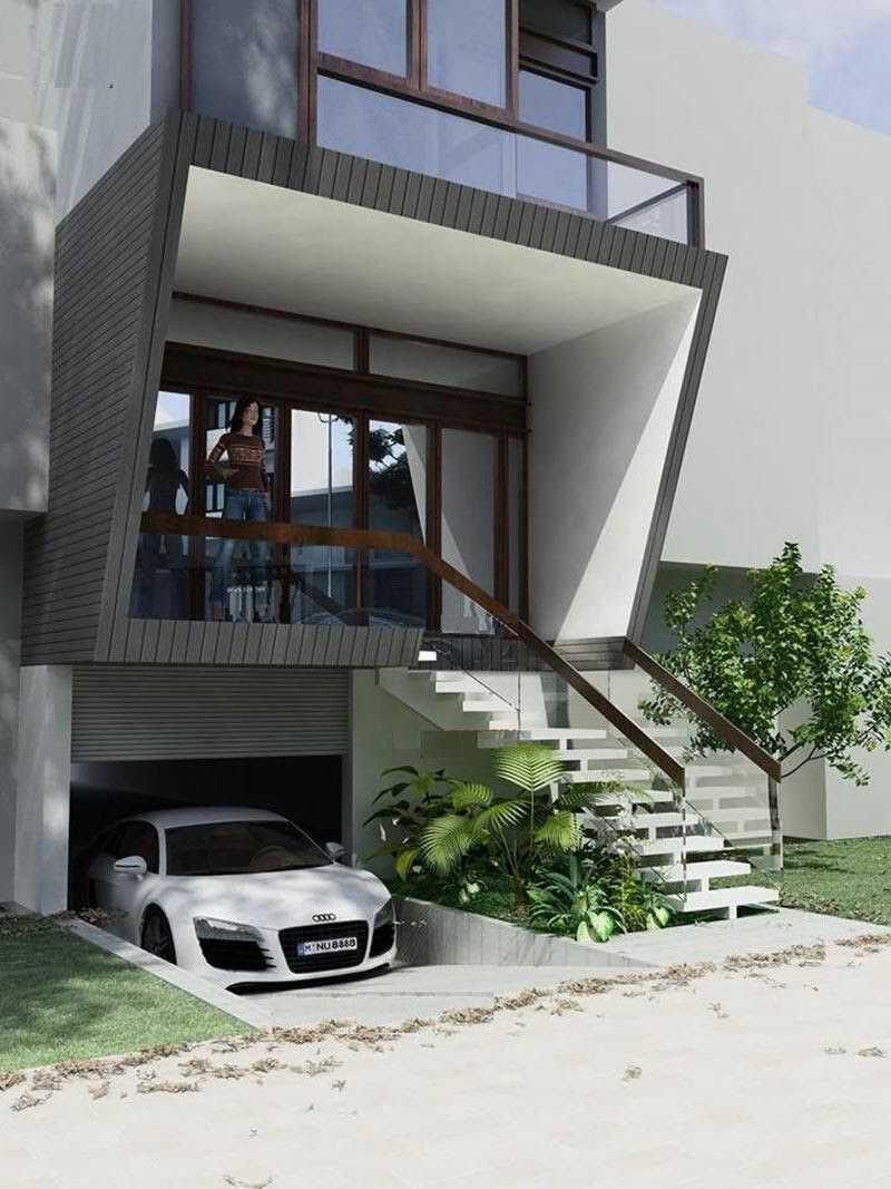 Ưu điểm của mẫu nhà có tầng hầm chìm