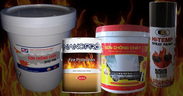 Top 6 Loại Sơn Chống Cháy Chất Lượng Hàng Đầu Hiện Nay